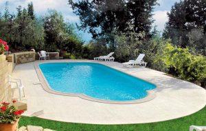Plastový bazén classic so zastrešením