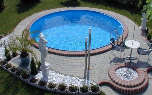 Bazén kruhový | Lacné bazény | Lacný bazén | Okrúhly bazén