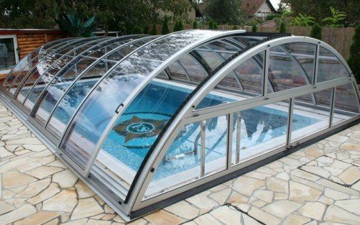 Prekrytie bazéna