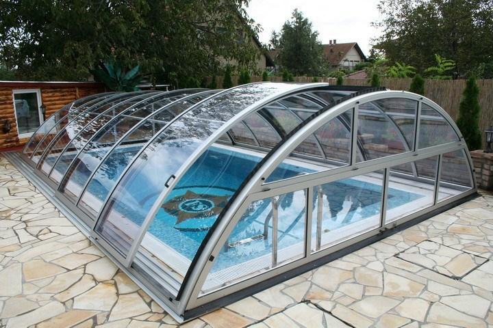 Prekrytie bazéna Apollo | Lacné prekrytie bazéna | Najlacnejšie zastrešenie bazéna