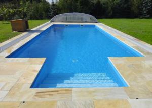 Plastový bazén MODERN s vonkajsimi schodikmi