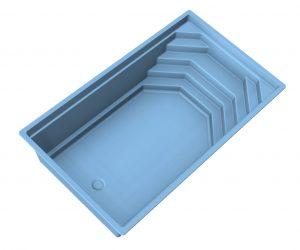 Keramický bazén SHEL | Bazény | Plastové bazény | Bazény na kľúč