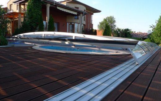 Nízke zastrešenie bazéna VENUS
