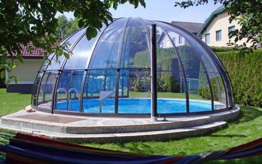 Prekrytie bazénu CUPID