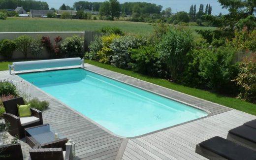 Bazén zaoblený - CLASSIC lacný bazén  so zaoblenými okrajmi
