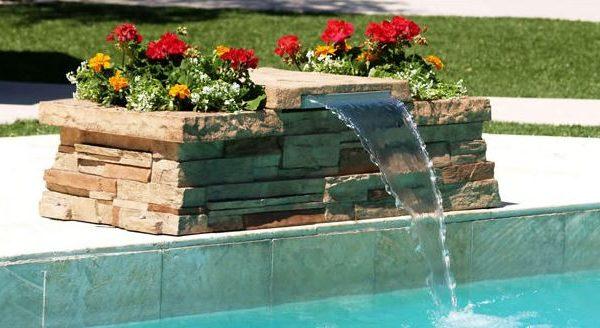 Bazén vodopád