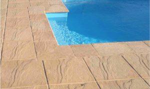 Bazénový lem a dlažba