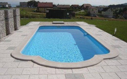 Bazén Classic s vonkajším schodiskom