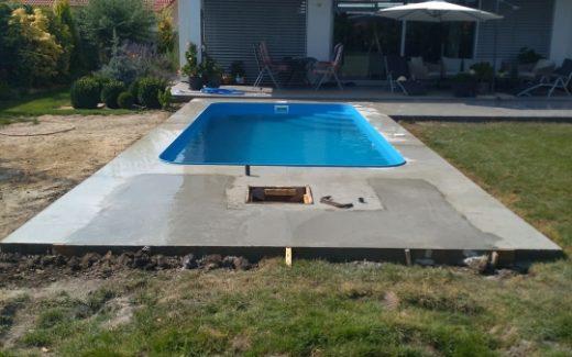 Bazén na kľúč