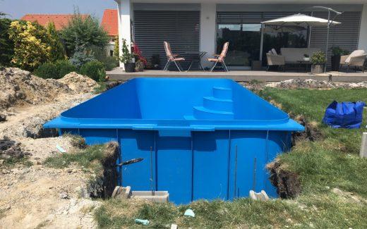 Stavba bazénu na kľúč