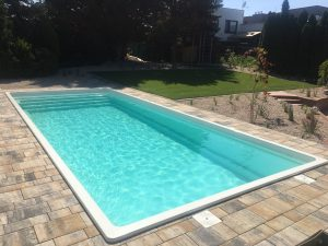 Laminatový bazen Platinum