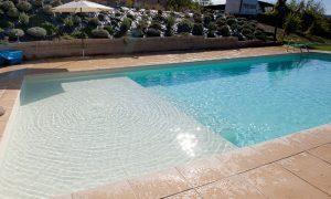 Bazén s ležadlom RELAX