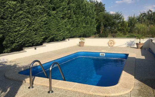 Bazén zaoblený Classic
