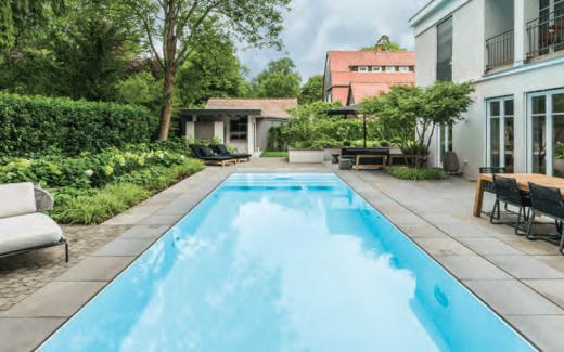 Bazén neviditelný okraj - INVISIBLE