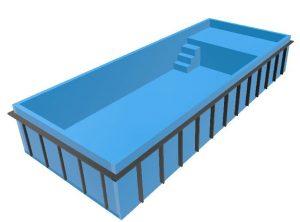 Bazén ležadlový Relax