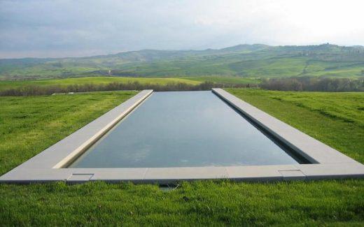 Bazén nekonečný - INFINITY. Bazény s nekonečným okrajom (obrazok je ilustracny)
