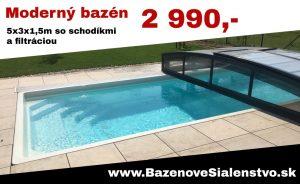 Bazén akcia