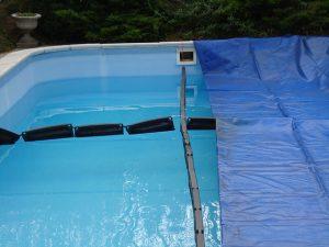 Zazimovanie plavaky a plachta