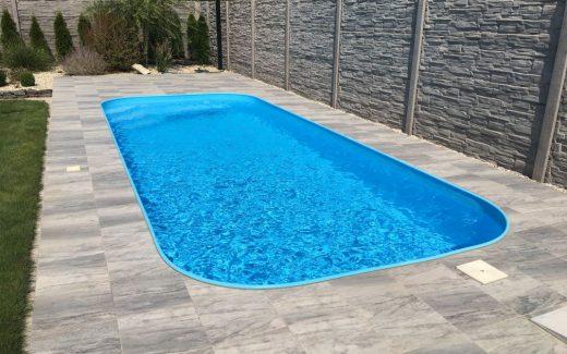 Bazén Classic s lemom z trubky