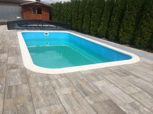 Bazén Classic s lemom Elegance
