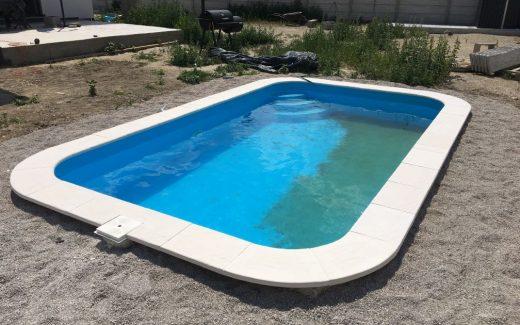 Plastový bazén Classic s lemom Elegance