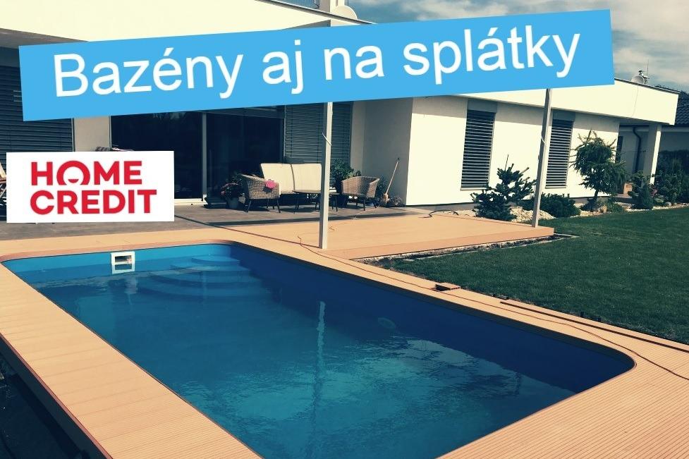 Bazén na splátky