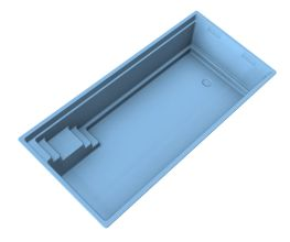 Keramicky bazén RUBIN | Bazény | Plastové bazény | Bazény na kľúč