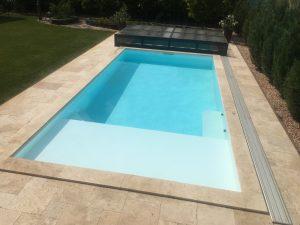 Ležadlový bazén RELAX - biely